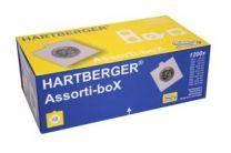Hartberger Assortie-boX met 1200x munthouders om te nieten