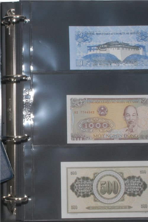 Hartberger banknote album