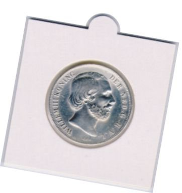 Hartberger coin holders self-adhesive or to staple