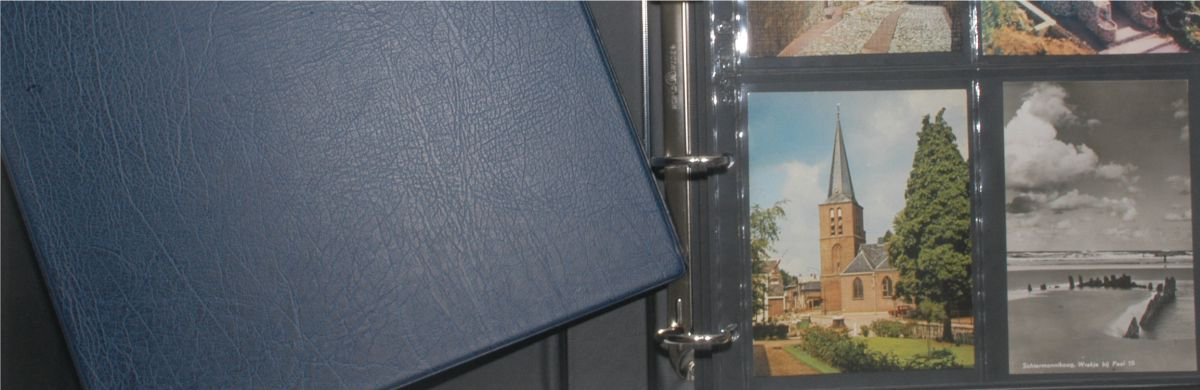 Hartberger postcard album