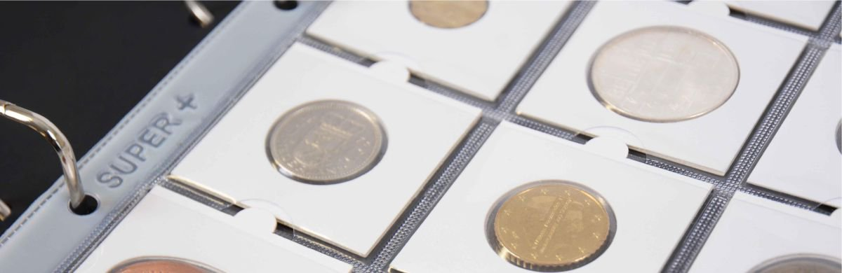 Hartberger GM20 Super+ pages for coin holders
